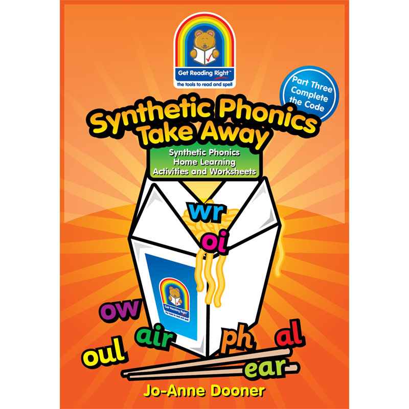 Synthetic Phonics Worksheets Take Away Part Three 978-988-15279-5-0