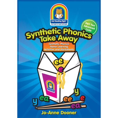 Synthetic Phonics Worksheets Take Away Part Two 978-988-19285-4-2