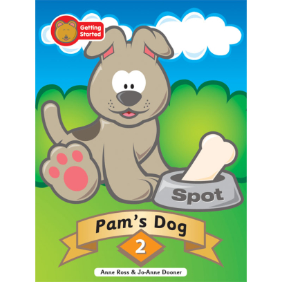 Decodable Stories Series One – 02 Pam's Dog