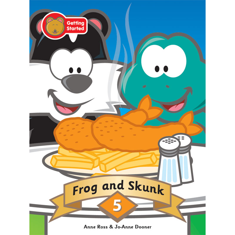 Decodable Stories Series One Frog and Skunk 978-988-19283-7-5