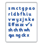 Synthetic Phonics Magnetic Letters Sassoon Basic Code