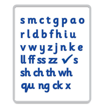 Magnetic Letters in Sassoon Font – Basic Code