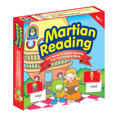 Martian Reading Card Games – Set One – Basic Code